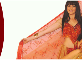Professional belly dancers