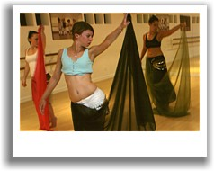Belly dance lesson